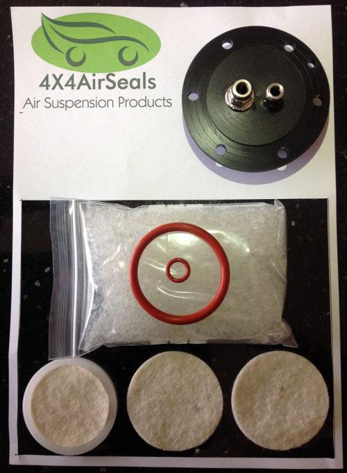 Range Rover Sport – Air Suspension Compressor Air Dryer Filtration Repair Kit + Air Dryer Cover