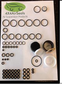 PS4 Valve Block & Compressor Piston Seal Complete Repair Kit for P38 Range Rover